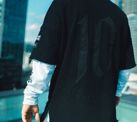 TEN Sweat Tee (Black)