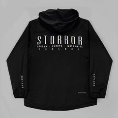AW17 Storror Explore Windbreaker Mk II (Black)