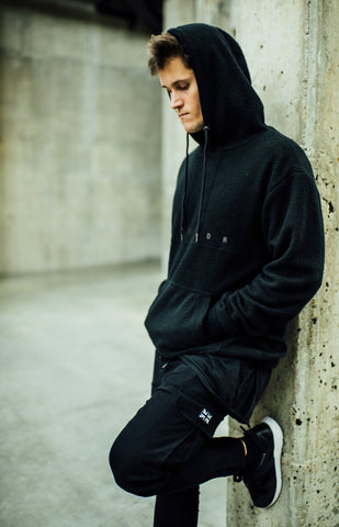 Storror Fleece Hoody (Black)