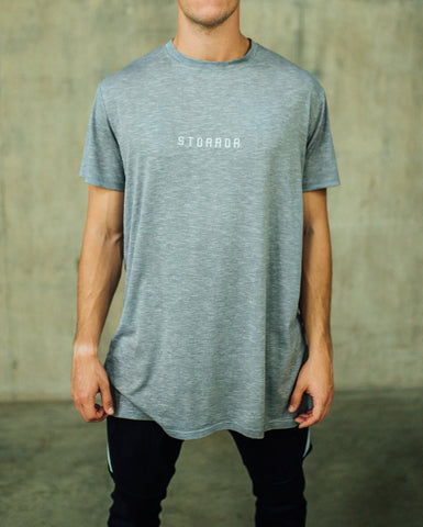Classic Oversize Storror Stretch Training Tee (Grey)