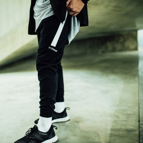 Classic Storror SLIM FIT Sweatpants (Black)