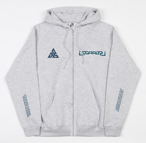 * Alien Zip Hoody (Grey)