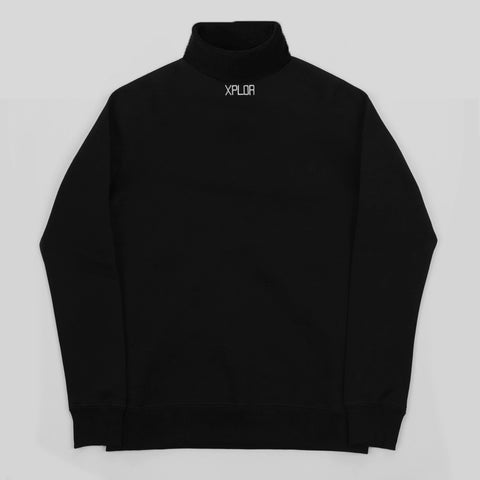 XPLOR High Neck Sweatshirt (Black)