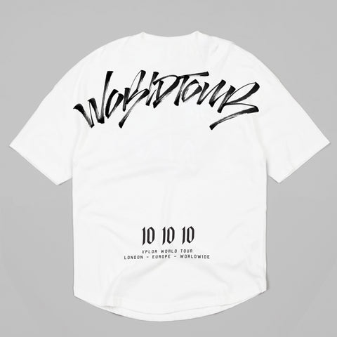 World Tour Scrawl T-Shirt (White)