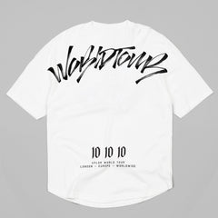 (SS18) World Tour Scrawl T-Shirt (White)
