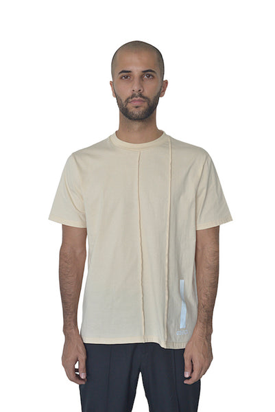 Deconstructed Beige Tee