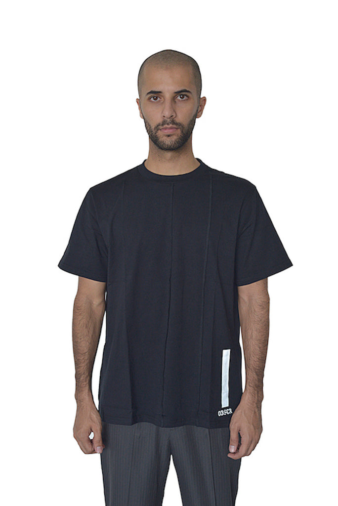 Deconstructed Black Tee