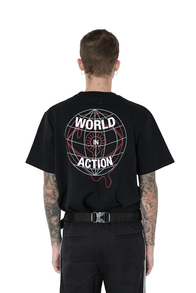 World In Action Tee