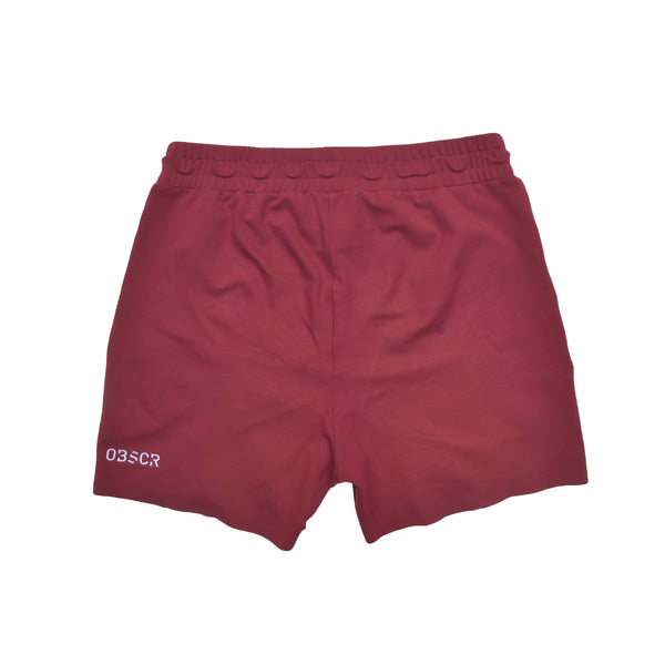 Zipper Fleece Shorts
