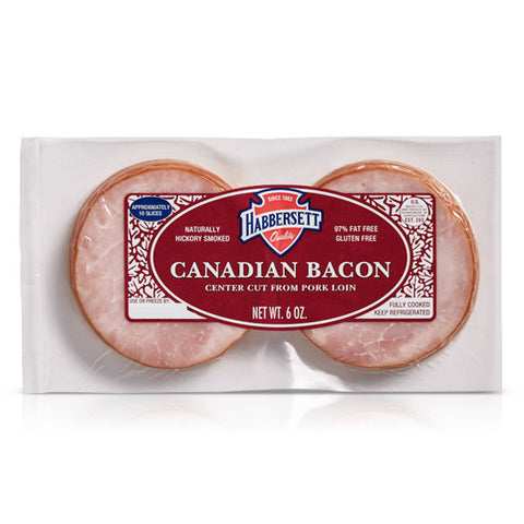 Canadian Bacon Slices