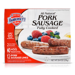 ALL NATURAL PORK SAUSAGE LINKS