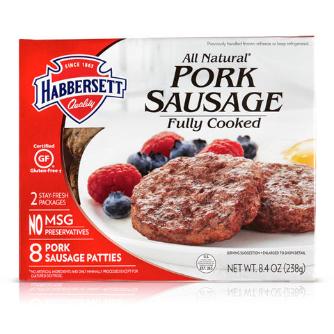 ALL NATURAL PORK SAUSAGE PATTIES