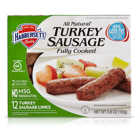 ALL NATURAL TURKEY SAUSAGE LINKS