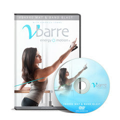 Vbarre Mat and Band Blast Workout