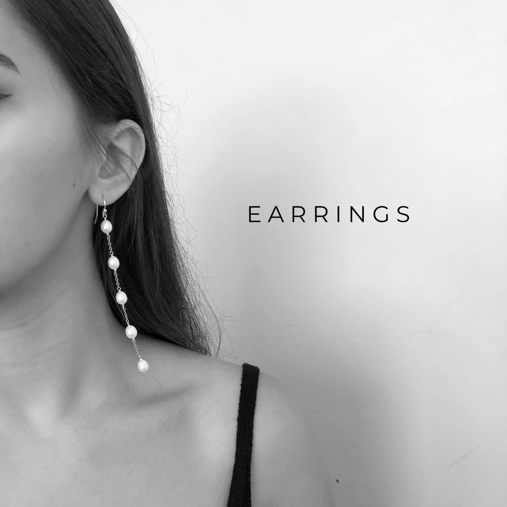 Shop statement and minimal earrings - Christine Elizabeth Jewelry