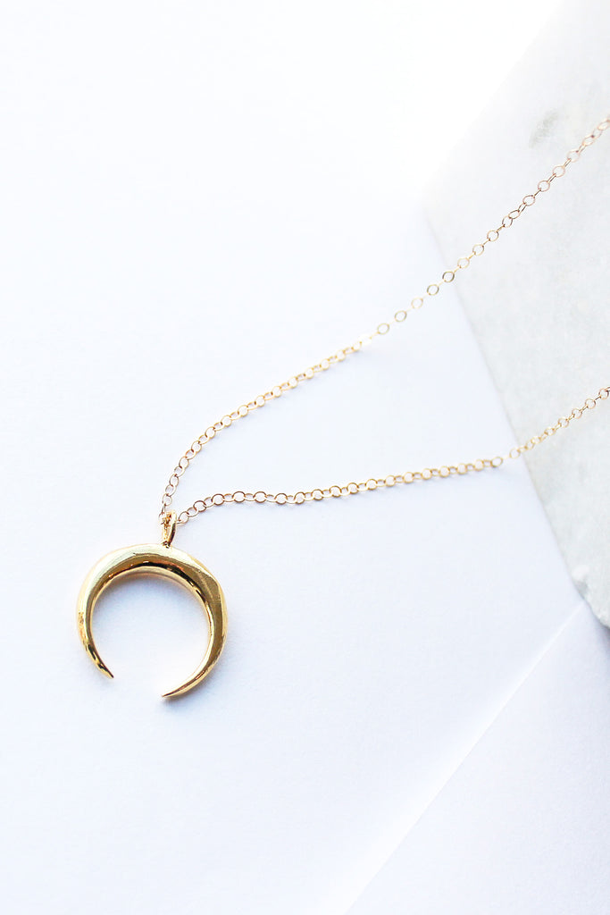 Crescent Grande Necklace