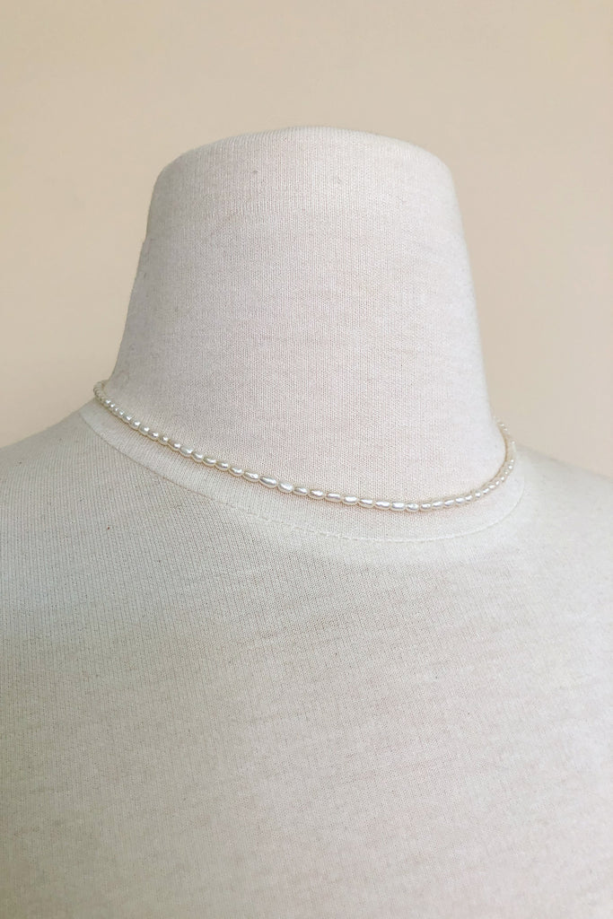 Baby Pearl Collar Necklace