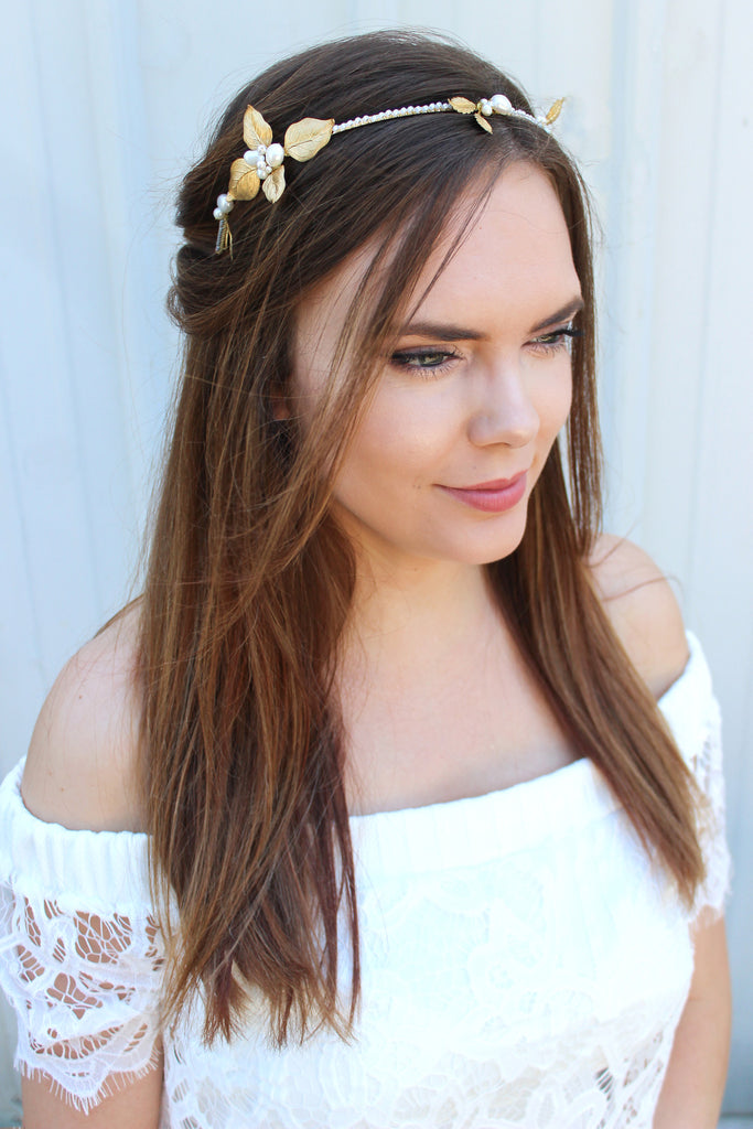 Avonlea Bridal Headband