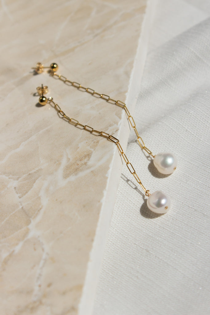 Brisbane Pearl Earrings
