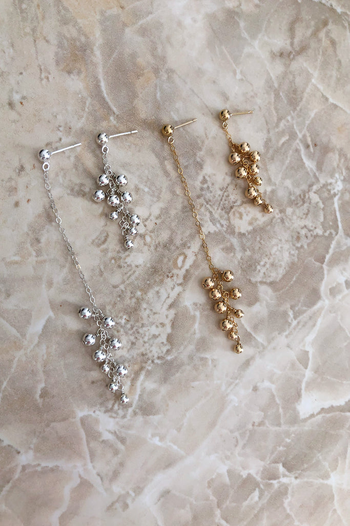 Gold Dust Mis-Matched Earrings