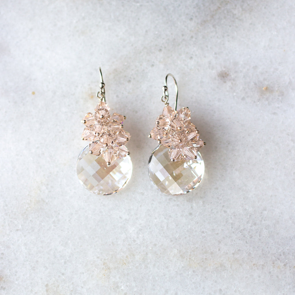 Petite Ritz Earrings - silk