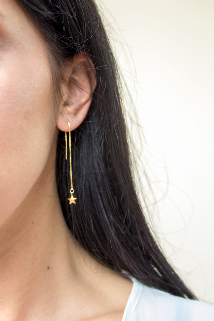 Stellar Threader Earrings