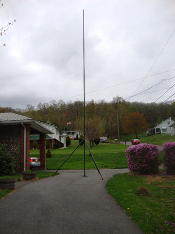 Antenna Tripod 29ft Aluminum Portable Tower Mast Kit