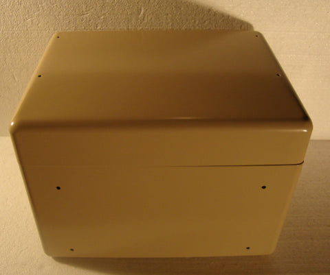 "ALUMINUM PROJECT BOX 13""L X 10""W X 9 1/2""H TAN"