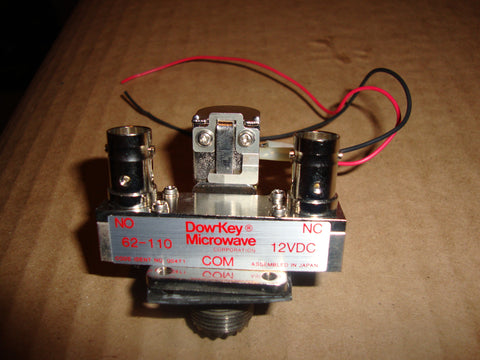 Dow-Key Microwave 12VDC Coaxial Antenna Relay Used Working Condition FREE SHIPPING WITHIN THE U.S.!