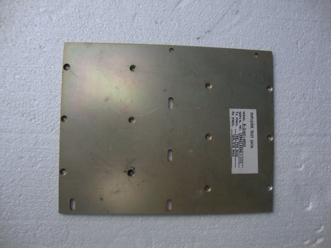 "ANODIZED ALUMINUM FLAT PROJECT PLATE W/ VARIOUS HOLES + SLOTS 9 1/4"" X 7 1/4"" 1/8"" THICKNESS FREE SHIPPING WITHIN THE U.S."