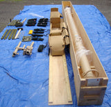 COBHAM EX128/18-4 NEW UNUSED SURPLUS PORTABLE MILITARY 18M / 59FT CRANK UP TOWER WITH ROTOR, ACCESSORIES + MANUAL