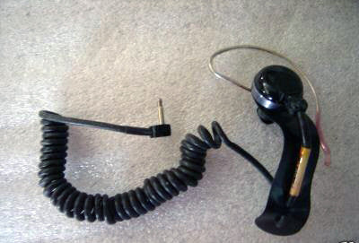 N.O.S. Military surplus radio headset h-264 / cx-10221 / prr-9 FREE SHIPPING WITHIN THE U.S.!