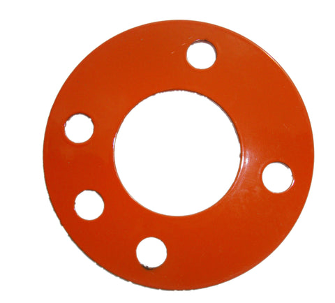 "Heavy Duty 1/8"" Steel Antenna Guy Ring - Orange Set Of 3 FREE SHIPPING WITHIN THE U.S.!"