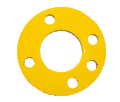 "Heavy Duty 1/8"" Steel Antenna Guy Ring - Yellow Set Of 3 FREE SHIPPING WITHIN THE U.S.!"