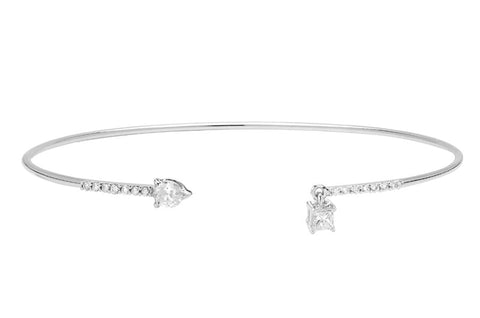 Vahina Tahi Paris - SWING white gold bracelet- size 17