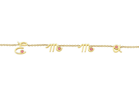 MYSTERY </br>yellow gold necklace -Emma-