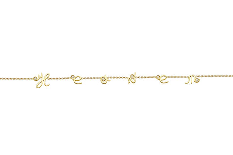 MYSTERY </br>yellow gold necklace -Heaven-