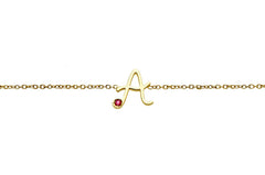 MYSTERY </br>Yellow gold necklace -A-
