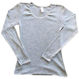 Bodyline Girl Grey Long Sleeve Vest