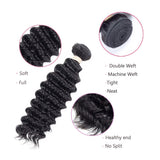Brazilian Hair 9A Deep Weave Human Hair Black SKU DEEP WEAVE Buyfast.co.za