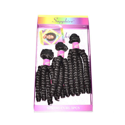 Sapphire Spring Curl 3pcs Synthetic Weaves Package Hotdot.co.za