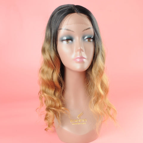 Sapphire Synthetic Hair Lace Front Wig 18 inch Lilly SKU Lilly