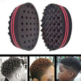 Natural Hair Twist Curl Sponge Double Side SKU HairSponge Hotdot.co.za