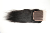 Beau-Diva 10A Human Peruvian Hair Straight Hair Closure Three Parts SKU PR CLOSURE 3PART | hotdot.co.za