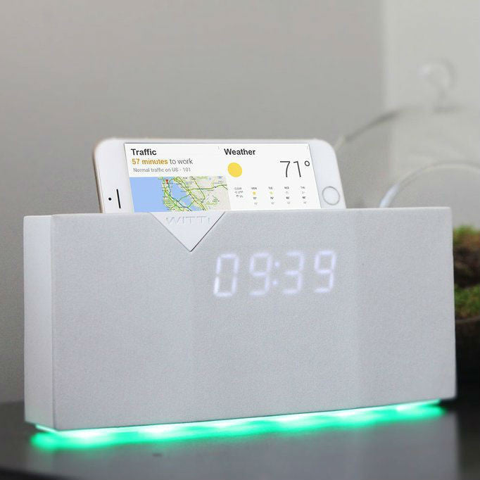 Alarm Clock With Mood Light For Ideal Awakening In Serene Manner