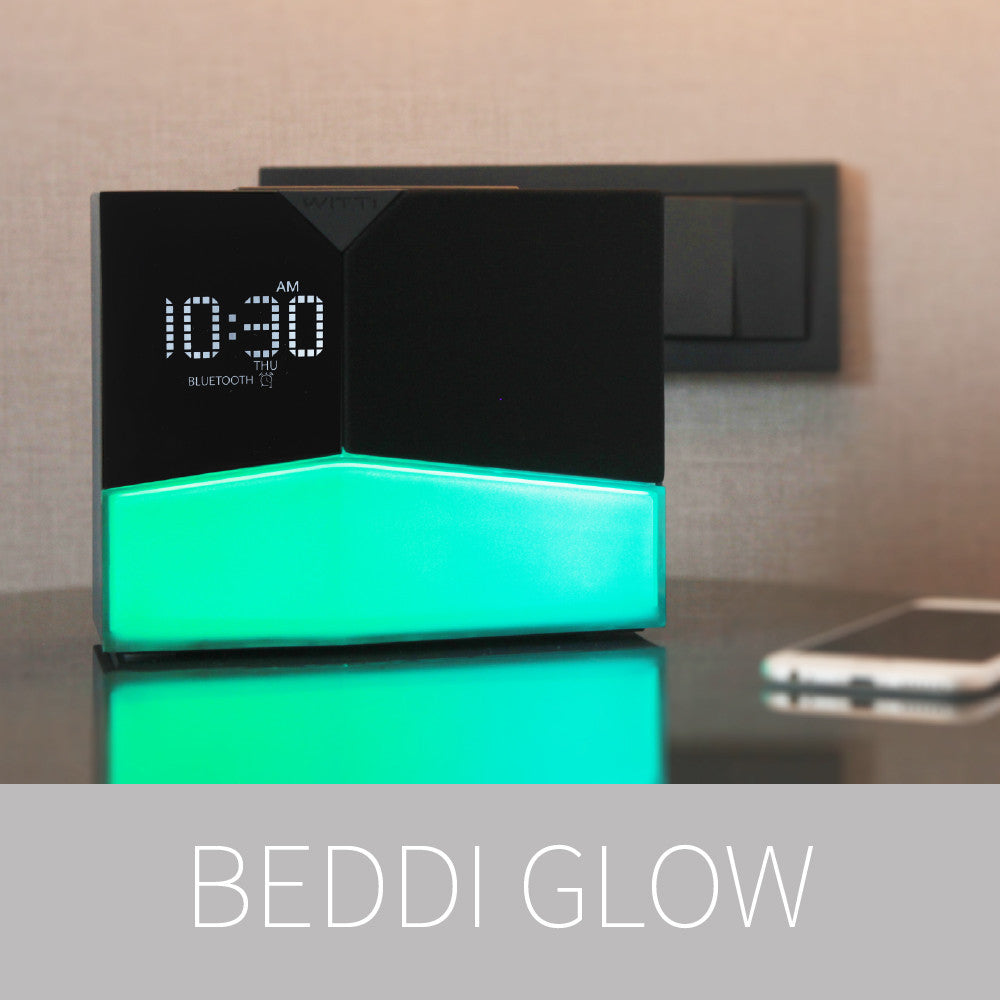 Enjoy you sleep with BEDDI Smart Radio Alarm Clock