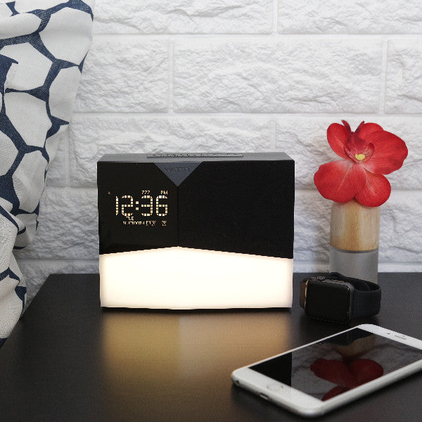 BEDDI Glow - Intelligent Alarm Clock with Wake up light and Bluetooth speaker