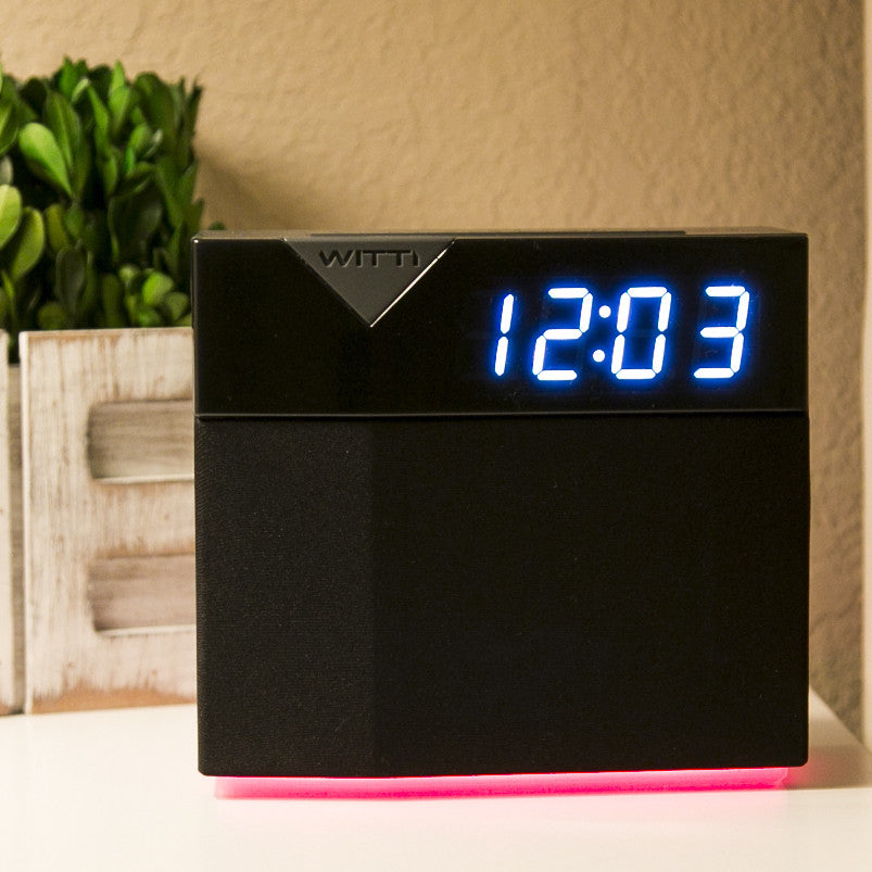 Spotify Alarm Clock With Changeable Faceplate