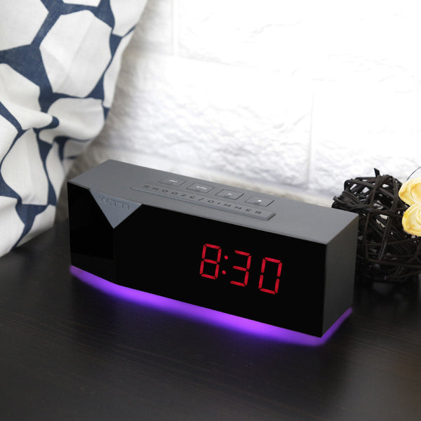 BEDDI Charge - Alarm Clock with Charging Ports and Mood Light
