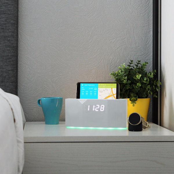 BEDDI - Smart Intelligent Alarm Clock with Bluetooth speaker